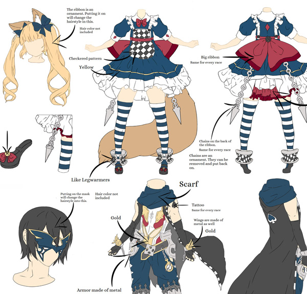 Character Design Contest 2014 : Blade soul