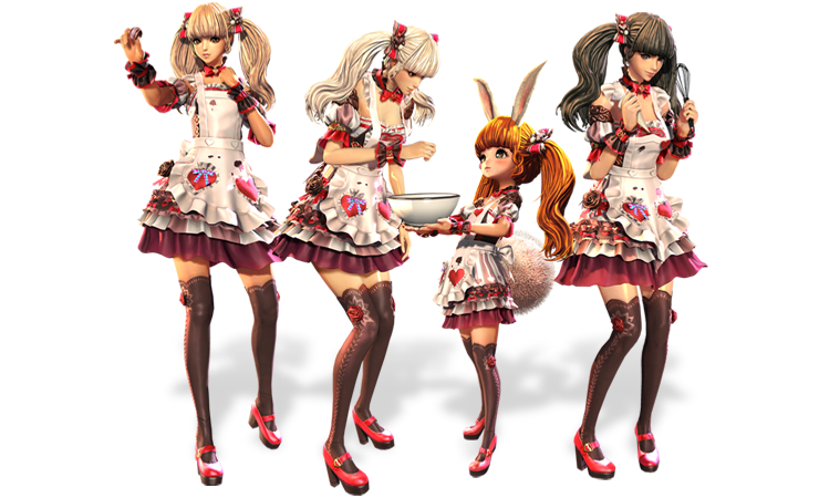 melt hearts with new valentines day costumes available in the hongmoon store including the new 2017 costume sweet treat and weapon skins heart attack